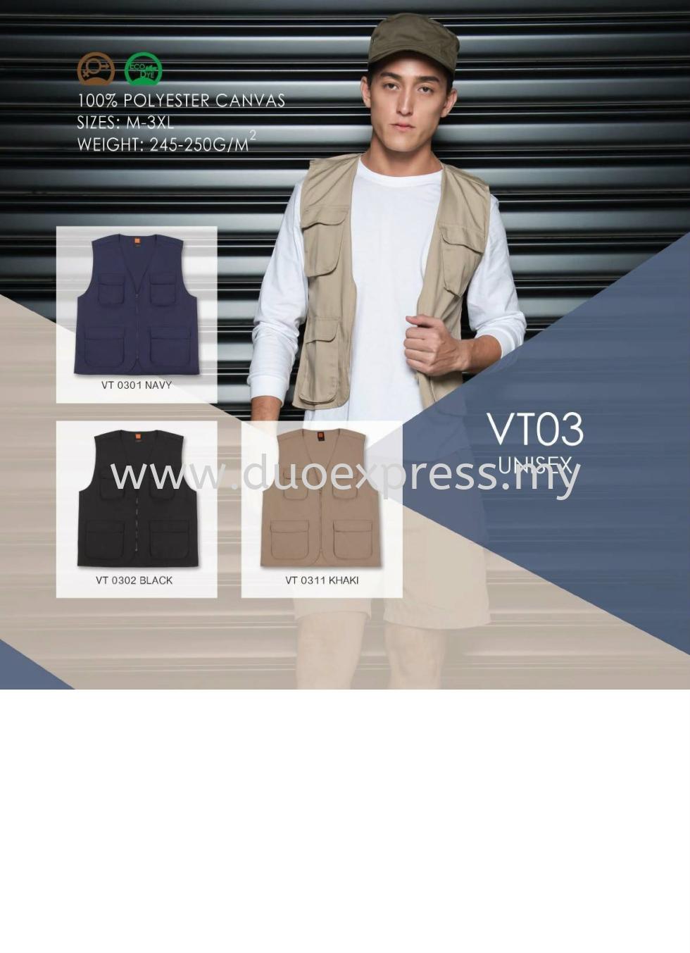 Windbreaker-Vest-Jacket VJ-03