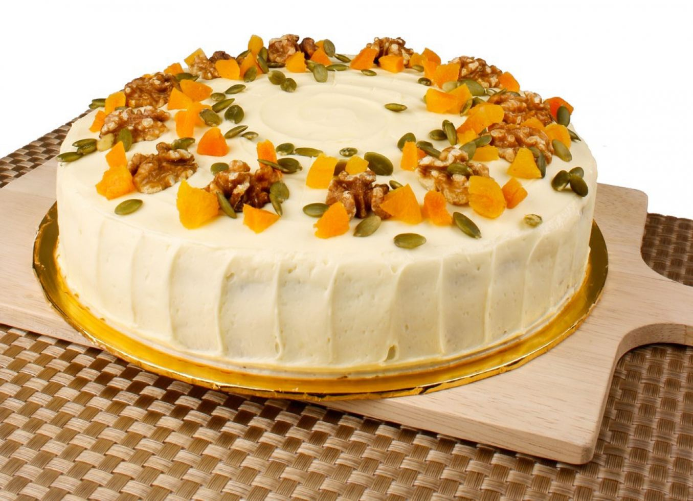 Carrot Cake with Cream Cheese