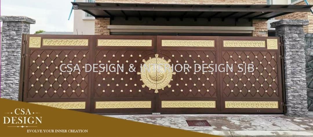 Aluminium Gate - Designer Gate