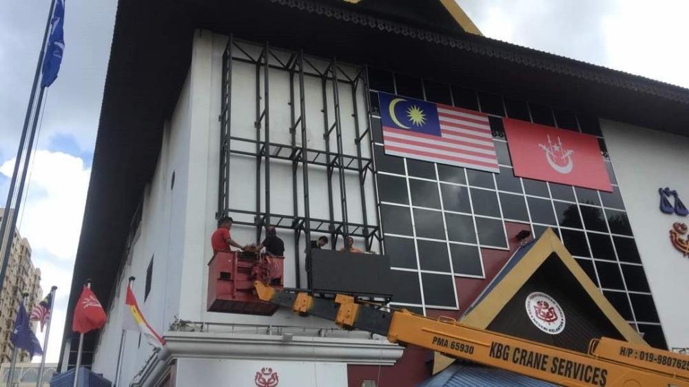 P8 Led Screen at Bangunan Umno Kelantan