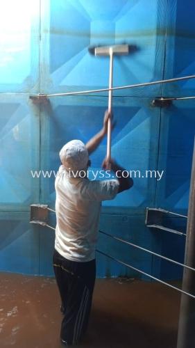 FRP Cleaning Mutiara Condominium Larkin