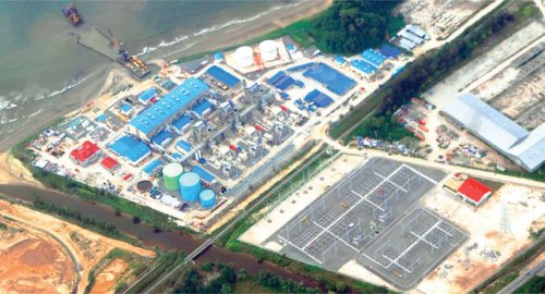 KIMANIS POWER PLANT 300MW CCPP PROJECT