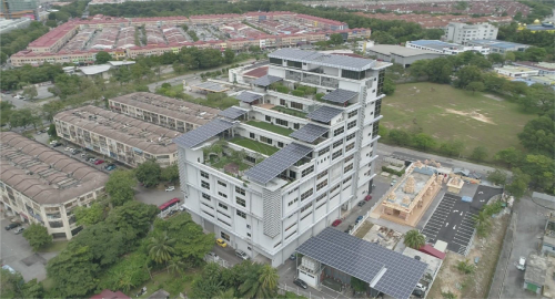200kWP Solar Rooftop Installation for Wisma MIE