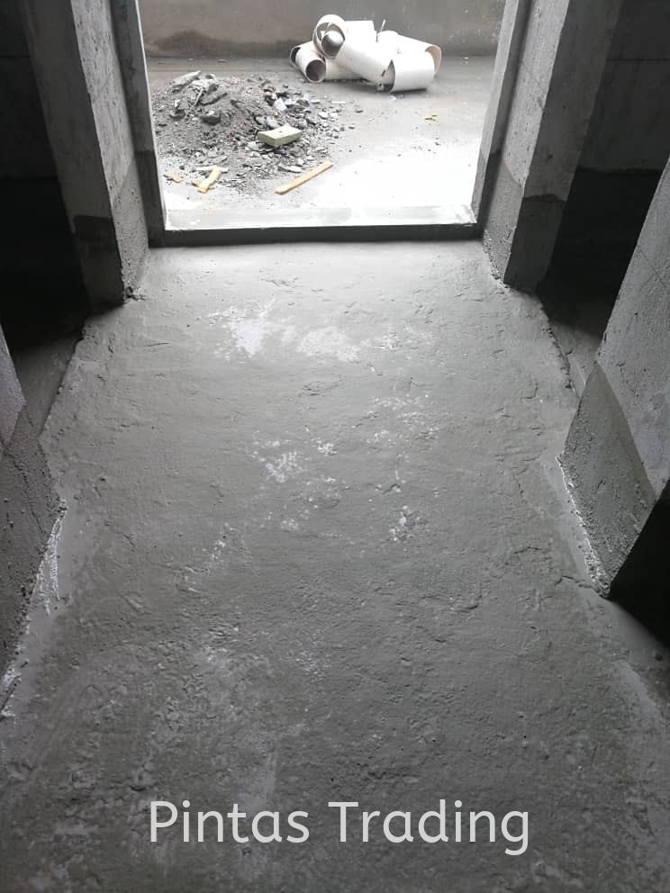 Polymer-Modified, Flexible, Cementitious, Waterproofing Coating
