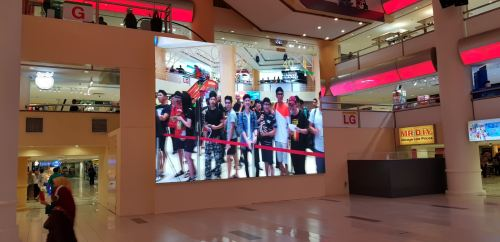 P4 LED SCREEN at Sungai Wang Shopping Complex