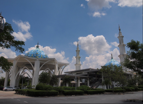 Senai International Airport Mosque