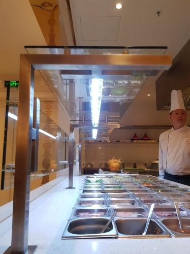 Hotel's kitchen