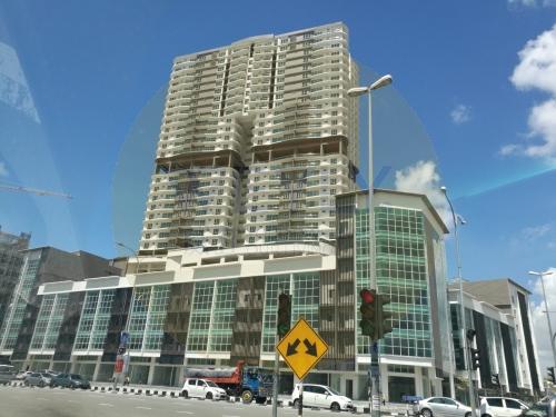 31 Storeys High Rise Condominium with 7 Storeys Shop Houses