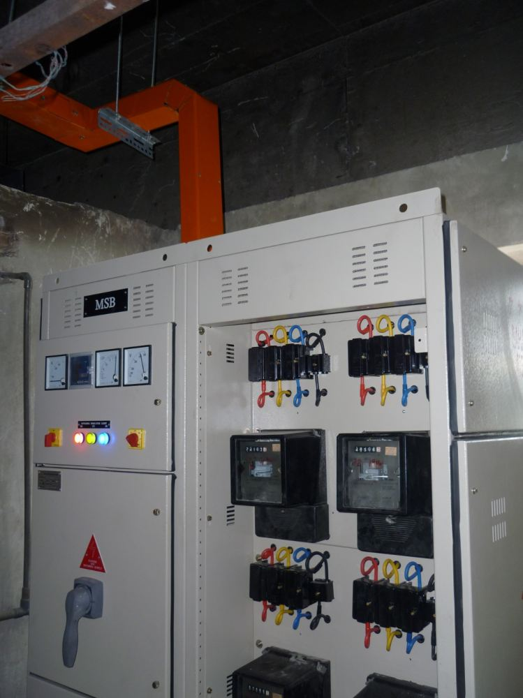 Replacement of 600 Amp MSB