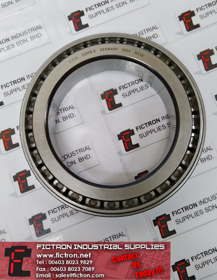 32028-X 32028X 8203 M155 FAG Roller Bearing Supply & Repair Fictron Industrial Supplies