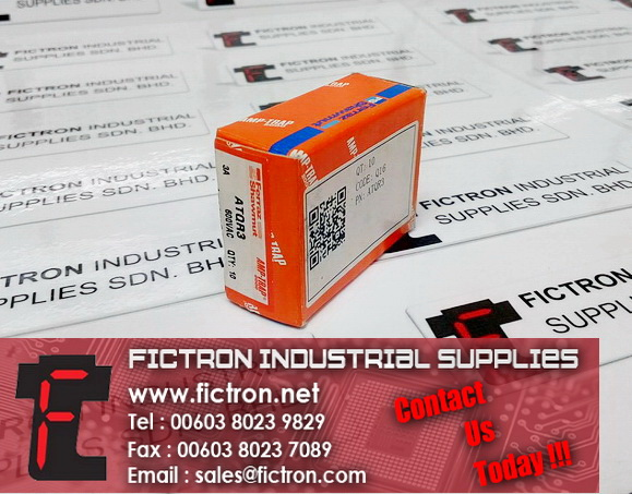 ATQR3 FERRAZ SHAWMUT 3A 600VAC Cylindrical Fuse Supply By Fictron Industrial Supplies