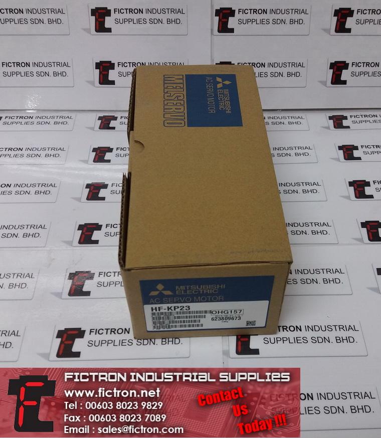 HF-KP23 HFKP23 MITSUBISHI 3Ph 200W 111V 1.4A AC Servo Motor Supply & Repair Fictron Industrial Supplies