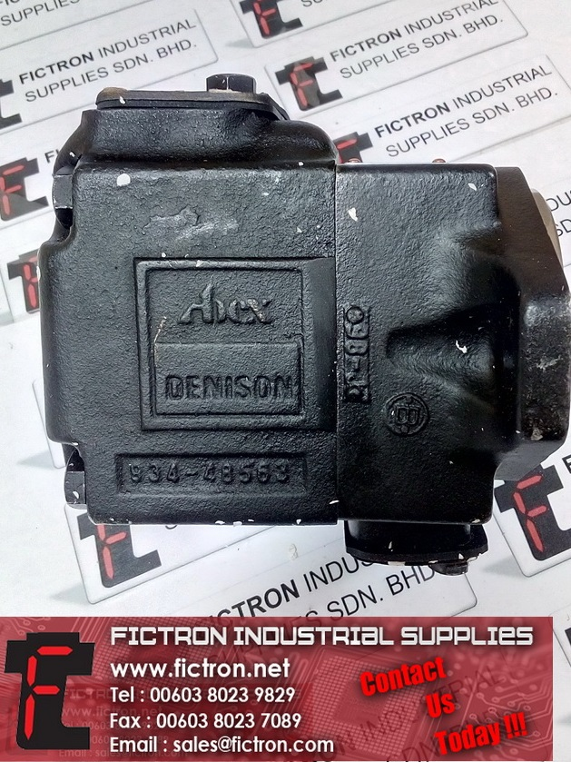 T6C 031 1R00 B1 T6C0311R00B1 024-263680-0 0242636800 DENISON HYDRAULICS Pump Motor Supply By Fictron Industrial Supplies