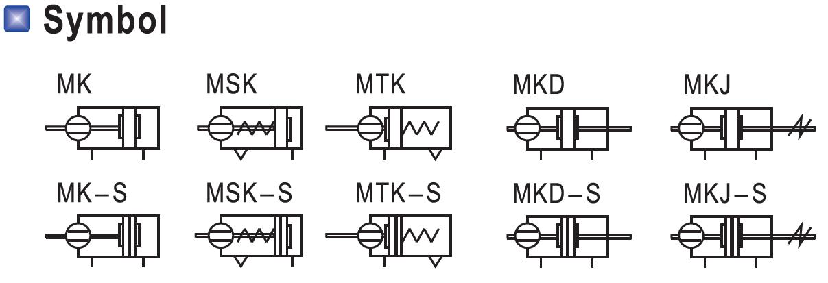 MK Cylinder Symbol