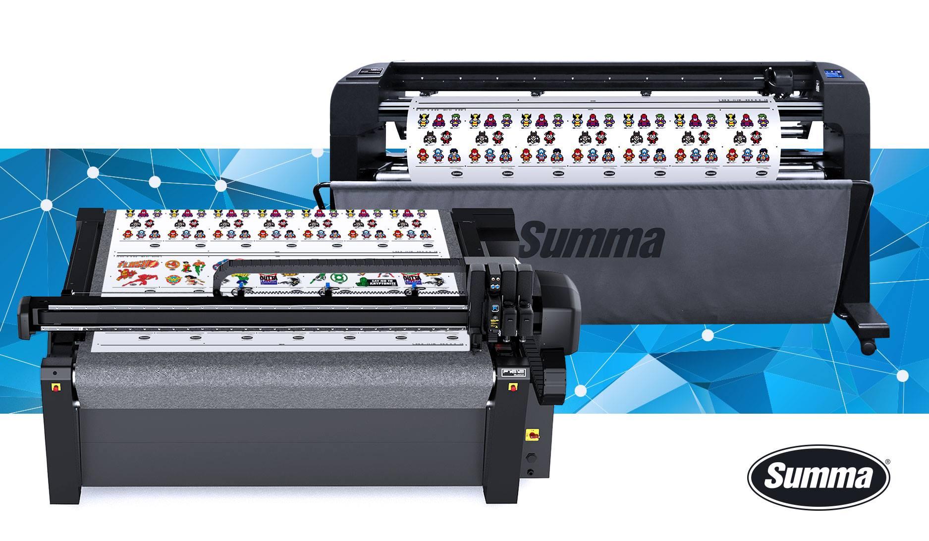 Summa Printing Machine Malaysia, Roland Printer, Cutter