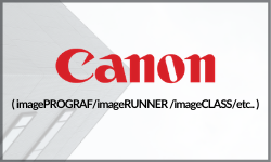 Driver: imagePROGRAF/imageRUNNER/imageCLASS/etc...
