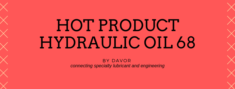 hot product: high performance hydraulic oil iso vg 68