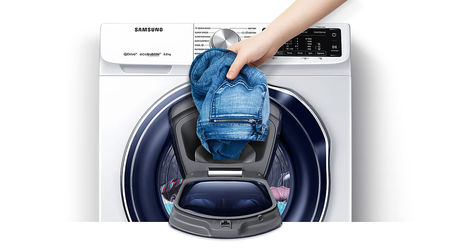 Samsung Front Load Washer with QuickDrive, 9 kg wash