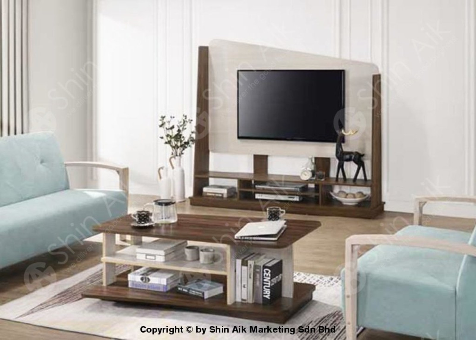 TV Display / Divider & Coffee Table
